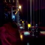Dark Upstairs Dining